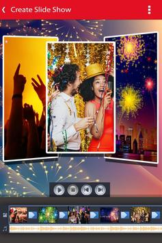 New Year Photo Video Slideshow Maker screenshot 1