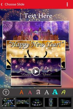 New Year Photo Video Slideshow Maker screenshot 2