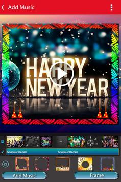 New Year Photo Video Slideshow Maker screenshot 3