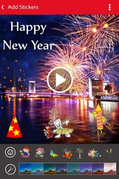 New Year Photo Video Slideshow Maker screenshot 4