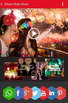New Year Photo Video Slideshow Maker screenshot 5