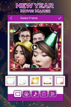 New Year Video Maker screenshot 1