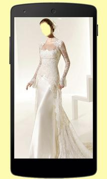 Wedding Dress Photo Montage poster