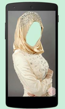 Hijab Bridal Photo Montage apk screenshot