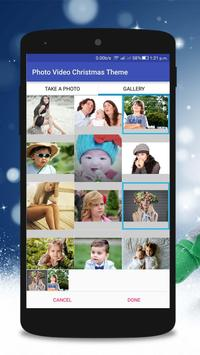 Christmas Photo Video Maker poster