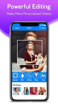 Photo Video Maker With Music-Movie Maker screenshot 17