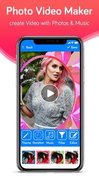 Photo Video Maker With Music-Movie Maker screenshot 9