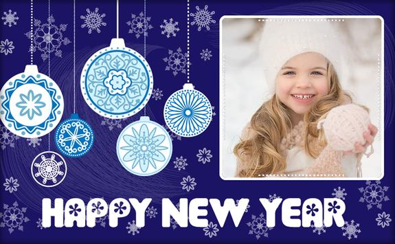 Happy New Year Photo Frame 2018 screenshot 3