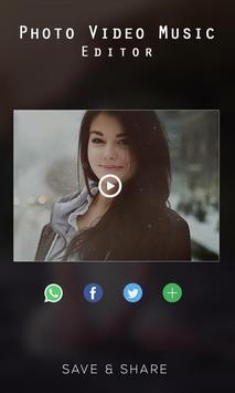 Photo Video Music Editor screenshot 7