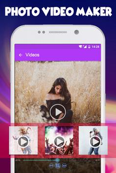 Photo Video Maker with Music Audio poster