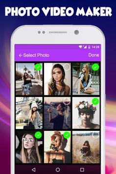 Photo Video Maker with Music Audio screenshot 1