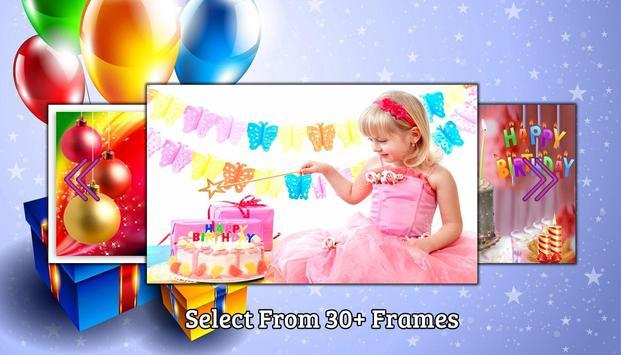 Cake photo frame photo editor | photo mixer screenshot 2