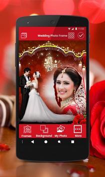 Wedding photo frame photo editor | photo mixer poster