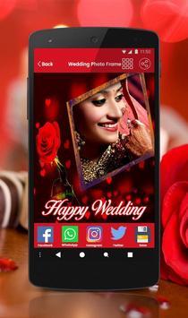Wedding photo frame photo editor | photo mixer screenshot 3