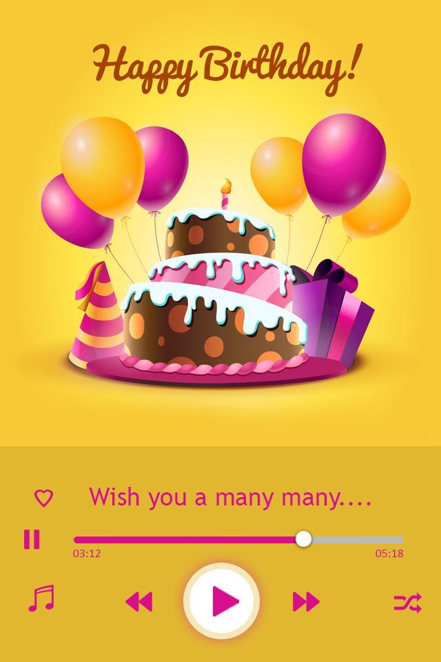 Birthday Song With Name: B'day Wish For Android