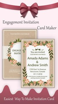 Engagement invitation card maker for android apk download engagement invitation card maker screenshot 4 stopboris Images