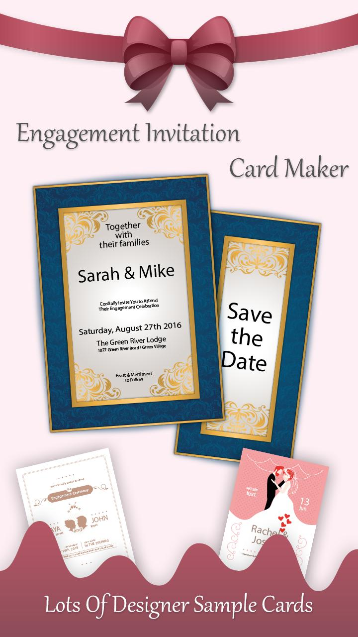 Engagement Invitation Card Maker For Android Apk Download