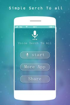 Voice Search For All poster