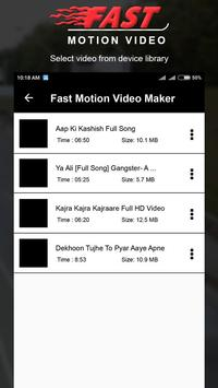 Fast Motion Video Editor poster