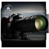 HD Camera : 4K Ultra icon