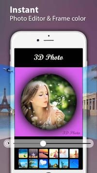 3D Photo Editor poster