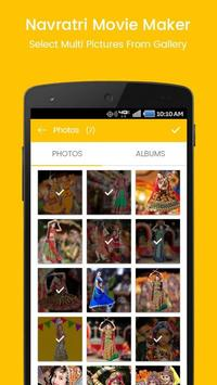Navratri photo to video with music | movie maker poster