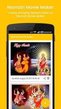 Navratri photo to video with music | movie maker apk screenshot