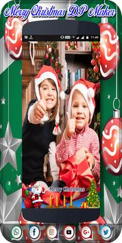 Christmas Profile Maker | Christmas DP Maker poster