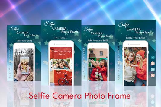 Selfie Camera Photo Frame poster