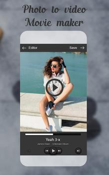 Photo To Video Movie Maker apk screenshot