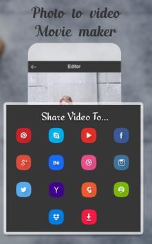 Photo To Video Movie Maker screenshot 4