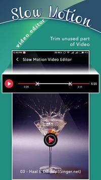 Slow Motion Video Editor apk screenshot