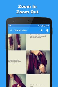 Ways To Tie A Scarf apk screenshot
