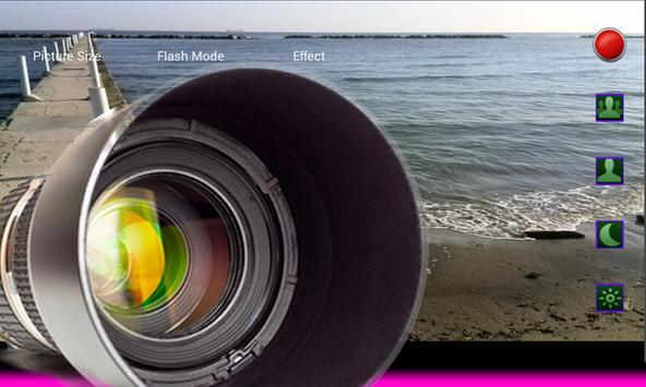 Photo camera zoom power apk screenshot