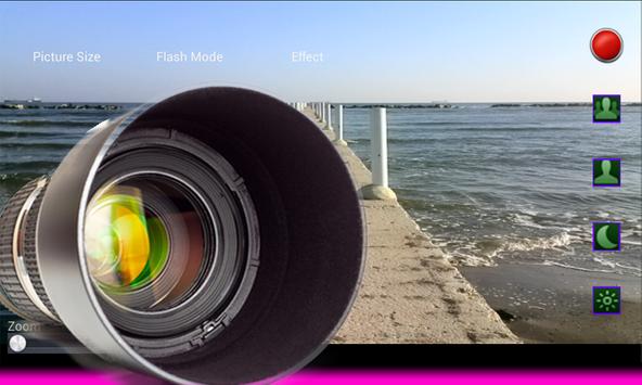 Photo camera zoom power screenshot 4