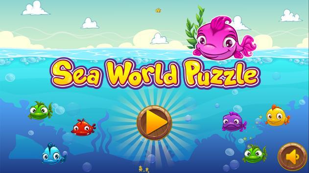 Sea World Puzzle poster