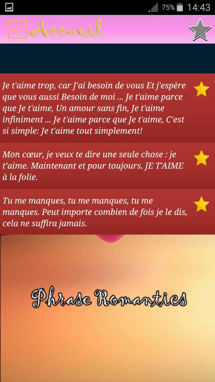 Belles Citations Damour Gratuit For Android Apk Download