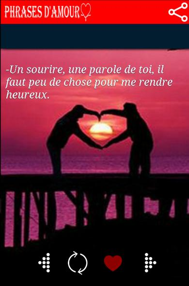 Phrases Damour Romantiques For Android Apk Download