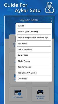 Guide for Aaykar Setu apk screenshot