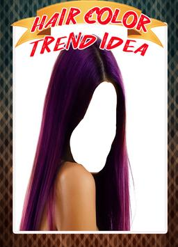 Hair Color Trend idea 2017 poster