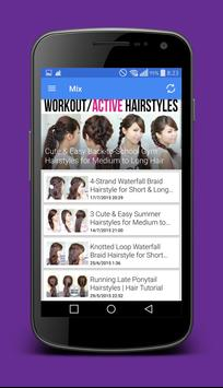 Hair Art Tutorials apk screenshot