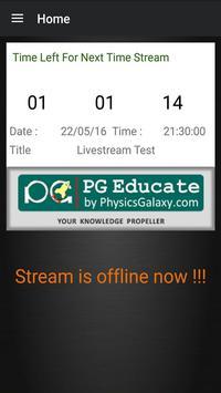 PG Live Stream apk screenshot