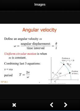 Physics Circular Motion Formulas screenshot 3