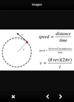 Physics Circular Motion Formulas screenshot 4