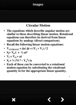 Physics Circular Motion Formulas screenshot 9