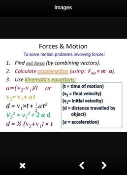 Physics Formula For Force poster
