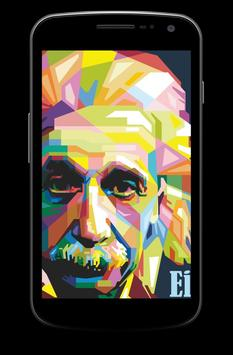 Albert Einstein Wallpaper Screenshot 3
