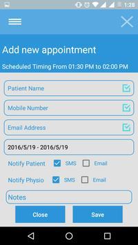 Physiodesk apk screenshot