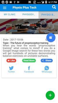 Physio Test App screenshot 2