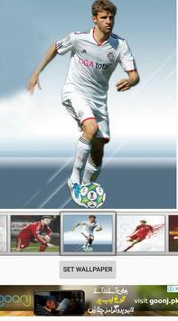 Thomas Muller Live Wallpaper poster